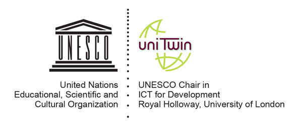 UNESCO Chair ICT4D Logo